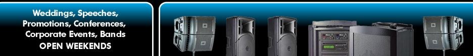PA Sound Hire Melbourne, Sound System Hire for Conferences, Corporate Events, Weddings and Live Bands.